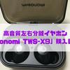 【買って良かったもの】高音質左右分離イヤホン「Pasonomi TWS-X9」購入レビュー【IPX7完全防水】