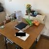 ただ自宅の食事テーブルを貼るだけのBlog