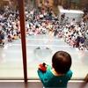 """その② 仙台のアンパンマンミュージアムで、憧れのあの方を前に""""大泣き""""した息子(笑)"""