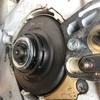 ヤフオクで購入した241C-Mに新品のバーとチェーンを購入したついでにスプロケットをリム式に交換しました