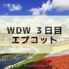 WDW3日目 エプコット