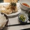 大手町【Farm Kitchen 然】鶏天定食 ¥900