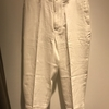 HAVERSACK hs equipment LINEN TROUSERS~松屋銀座~