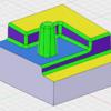 Fusion360CAM イビツな材料からの粗加工経路作成
