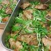 ぶりの甘酒照焼 水菜のサラダ仕立て