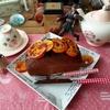 春眠爆睡とオレンジケーキ & 今夜は「ワイスピ スカイミッション」 & 軍装ガイド本