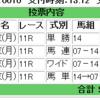 2018/10/08(月) 4回東京3日目 11R グリーンチャンネルカップ ダート1400m