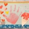 マスキングテープで母の日のカード作り。