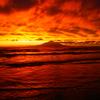 日本海に沈む夕日、オホーツク海と太平洋の日の出