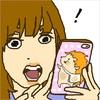 JOB-HUGイメージキャラクターのハーリー君に似顔絵イラスト描いて貰ったよ♡
