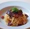 「炙りカツオとタコの和風ペペロンチーノ・スパゲティ」のご紹介