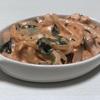 コストを抑えて簡単美味しく作れる高タンパクレシピ ~鶏むね肉のトマトクリーム煮~