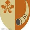 角笛の紋章。