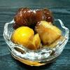 余ったお菓子で作る栗のシロップ煮【甘露栗】