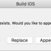 Unityで作ったXcodeのプロジェクトからTARGETSを消してはならない!