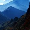 石鎚山は紅葉真っ盛り