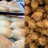 手作りパン給食メニューたいへん❗❗