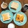 【台湾 苗栗】市場の2階にあるカワイイ朝ごはん店
