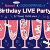 《2/17 (土) Naomi&LIQUID&F's Birthday- YOSSY Battle NI