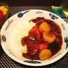 プルコギビーフアレンジカレーとカルディの麻婆豆腐の素でらくらくごはん(; ・`д・´)