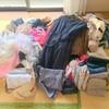【片づけ祭り】家にあるすべての服を並べる(衣類編)