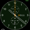 Apple WatchのStravaアプリで50km走った後のバッテリーの状況