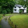 京都御苑 雨の日の閑院宮邸