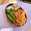 弁当めんどくさい!時のテンプレ弁当 豚肉の生姜焼き
