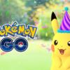 『Pokémon GO』 とんがり帽子をかぶったピカチュウ♪