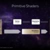 Primitive ShaderとかMesh Shaderとかを調べてみた。
