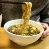 焼きそば進化形? いや歴史ある栃木のB級グルメ、醤油スープに入った焼きそば!