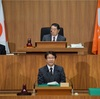 県議会で代表質問に立ちました