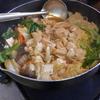 幸運な病のレシピ( 955 )朝:鶏むねのすき焼き鍋、サンマ紫蘇焼き