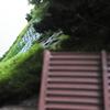 ストラクチャー(山)を作る(10) 仮設落石防護柵の設置
