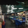タイの美味しい食べ物を振り返ろう⑤ プリプリレバ刺しと海老の刺身