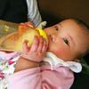 カーラちゃん4か月検診と離乳食