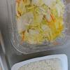 栄養改善? 白菜の漬物 サバ缶 佐藤のご飯