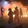神宮外苑イベントで日本工業大学制作のジャングルジムが炎上!五歳児が焼死!