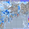 線状降水帯により北川村付近では1時間に約120mmの猛烈な雨が!気象台は記録的短時間大雨情報を発表!高知県東部では4日18時までに400mmの予想!
