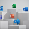 「Microsoft Office」のアイコンデザインを6年ぶりに刷新!Windows 10のデザインシステム、Fluent Design System(フルーエントデザインシステム )に沿ったデザイン改善の一環