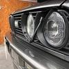BMW E30 【スタイルアップ File 32】ヘッドライトワイパー装着。