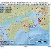 2016年12月26日 09時49分 高知県中部でM3.7の地震