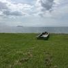 琵琶湖の風は優しく爽やかであった