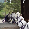 東大寺 山陵祭/オープンエアのアカペラ。新緑に声明が響き渡ります。