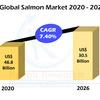 Global Salmon Market &生産、企業によるボリューム、2026年までの予測
