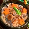 蓮根と生姜の、蕎麦の実入り炊き込みご飯