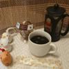 今回のコーヒーはマンデリンG1(深煎り)~お茶請けはチョコレートパフェ~