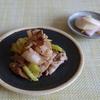 19冊目『行正り香のお酢料理』より3回めは豚バラお酢ソテーキャベツ添えなど