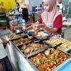 タイのピピ島での食事