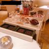 殿堂入りのお皿たち その433【ロオジエ の ミニャルディーズワゴン】